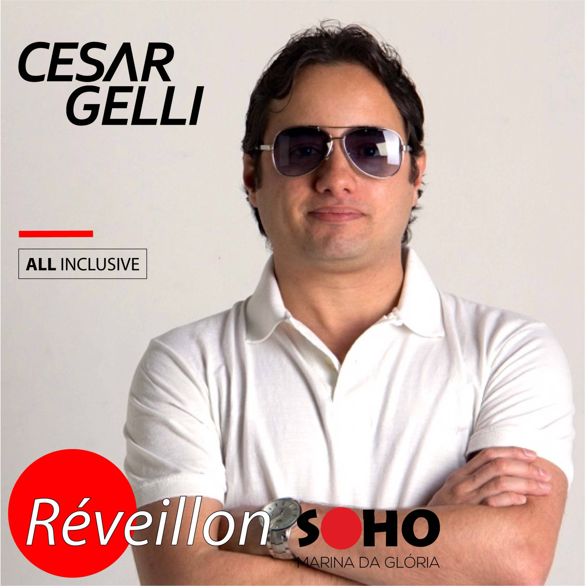 DJ Cesar Gelli All Inclusive Reveillon Soho Rio