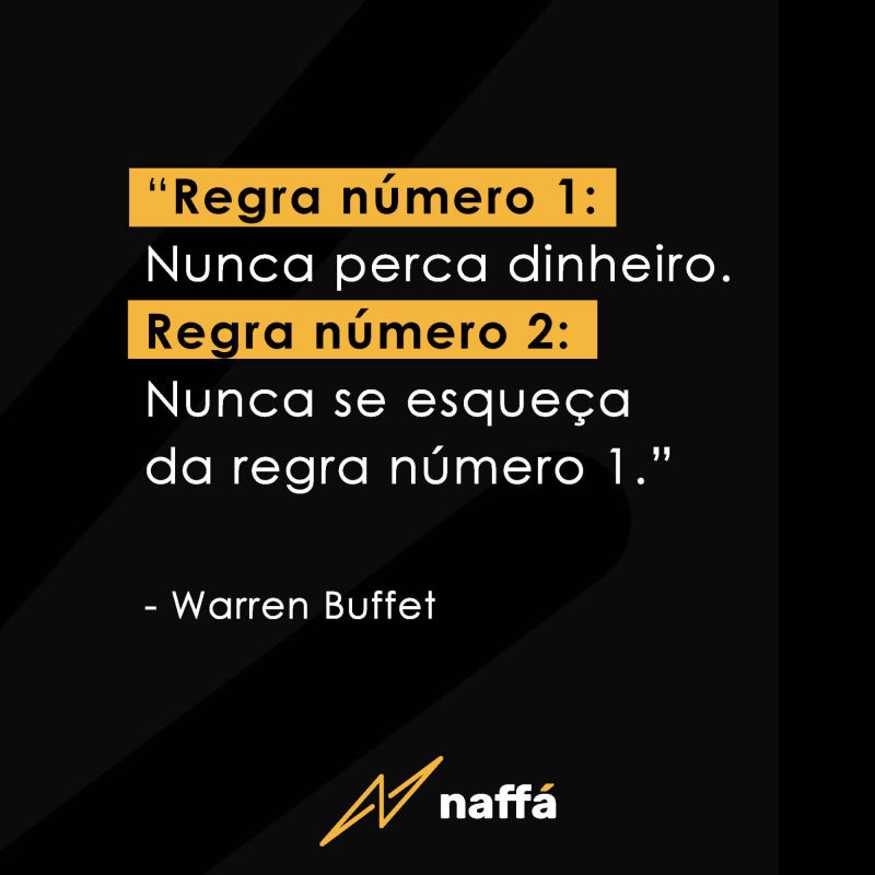 Frase de Warren Buffet